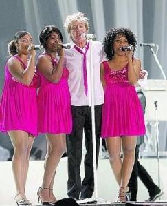 The Rod Stewart Concert in Tenerife