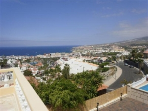 View from Luxury 6 Bed villa in San Eugenio Alto Tenerife