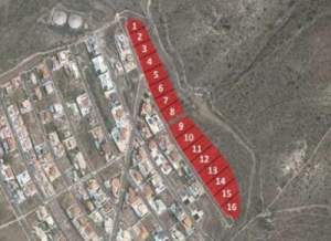 Building Plots for sale on Roque del Conde Tenerife